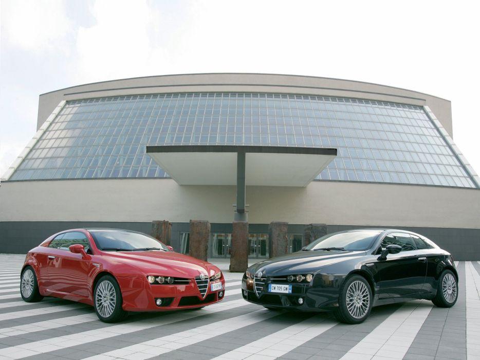 Alfa Romeo Brera 2005 wallpaper