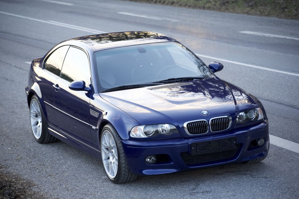 BMW M3 Coupe Competition Package 2005 wallpaper