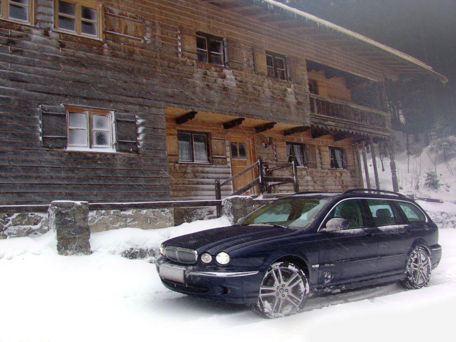 Jaguar X-Type Estate 2004 wallpaper