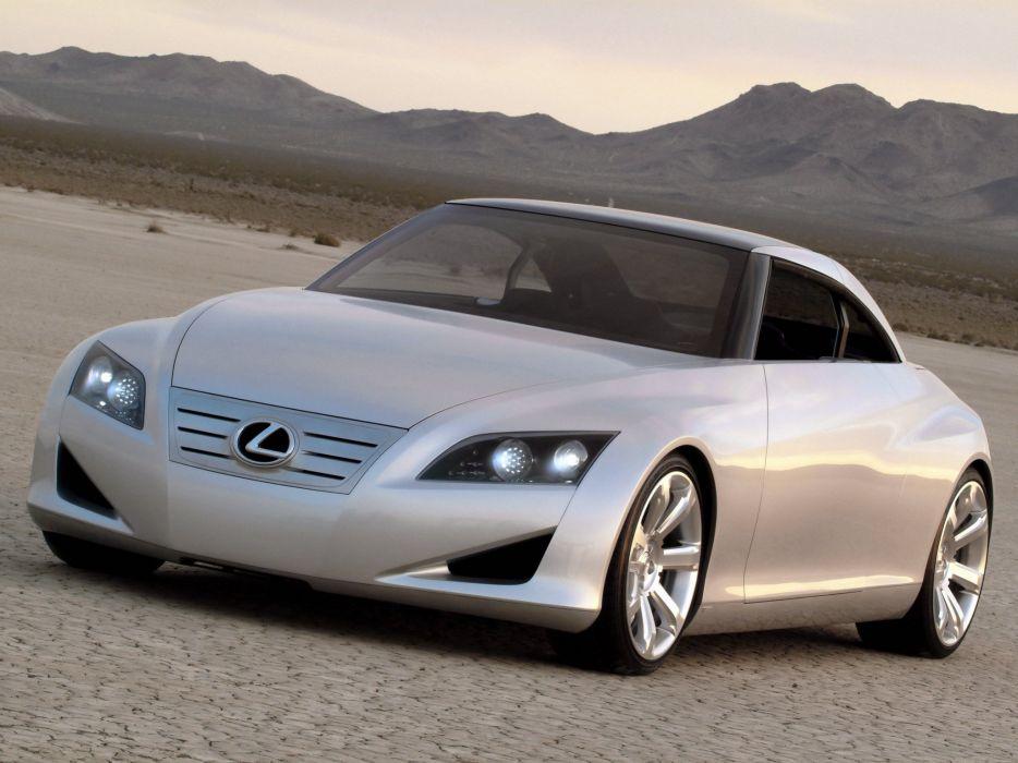 Lexus LF-C Concept 2004 wallpaper