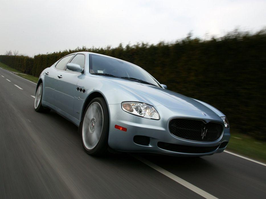 Maserati Quattroporte Sport GT 2005 wallpaper