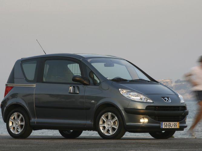 Peugeot 1007 2005 wallpaper