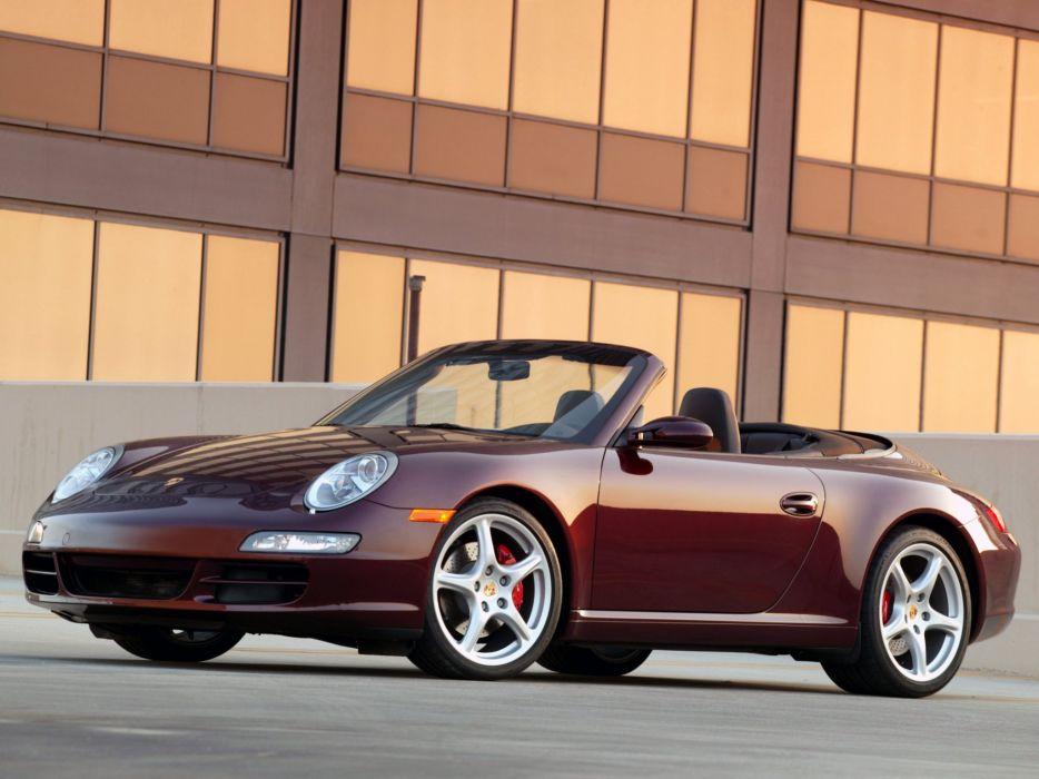Porsche 911 Carrera S Cabriolet 2005 wallpaper