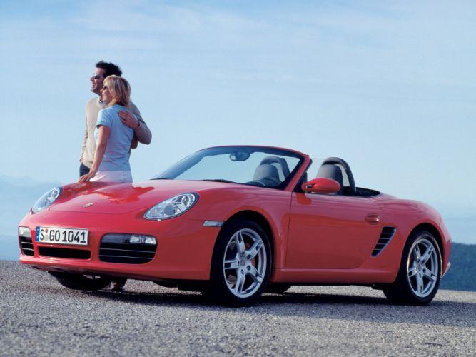 Porsche Boxster S 2005 wallpaper