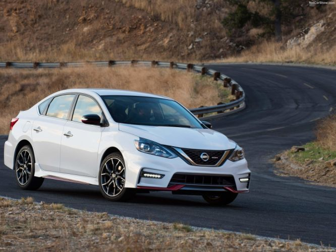 Nissan Sentra Nismo cars sedan 2017 wallpaper