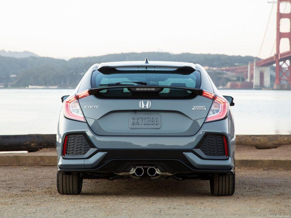 Honda Civic Hatchback cars 2017 wallpaper