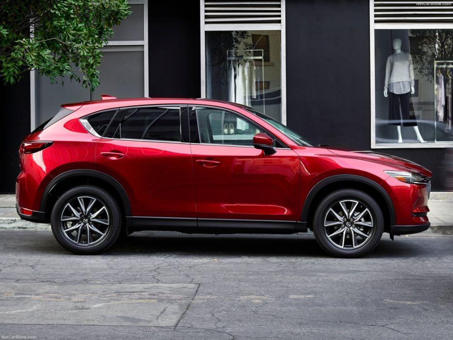 Mazda CX-5 cars suv awd red 2017 wallpaper