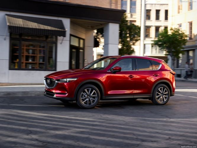 Mazda CX-5 cars suv awd red 2017 wallpaper