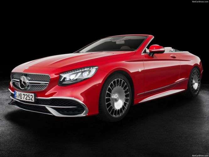 Mercedes Benz S650 Cabriolet Maybach cars 2017 wallpaper
