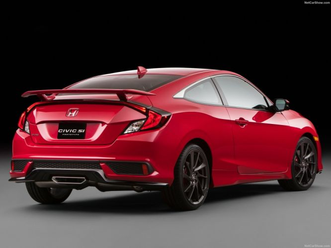 Honda Civic (Si) Concept cars red 2016 wallpaper