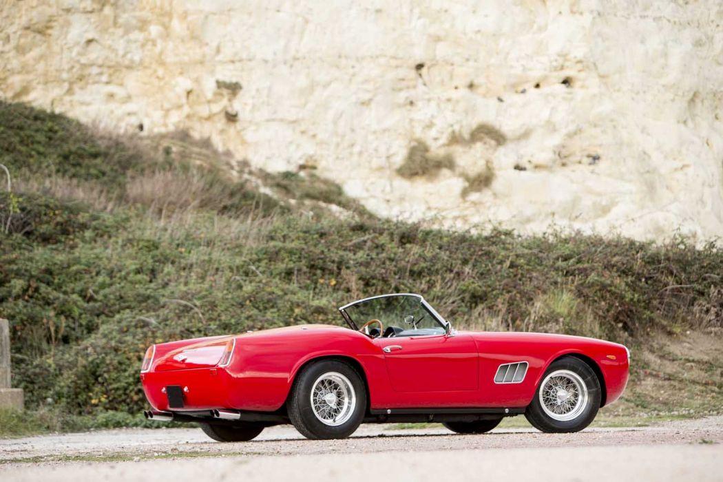 1960 Ferrari 250 Gt California Spider Cars Red Classic Wallpaper