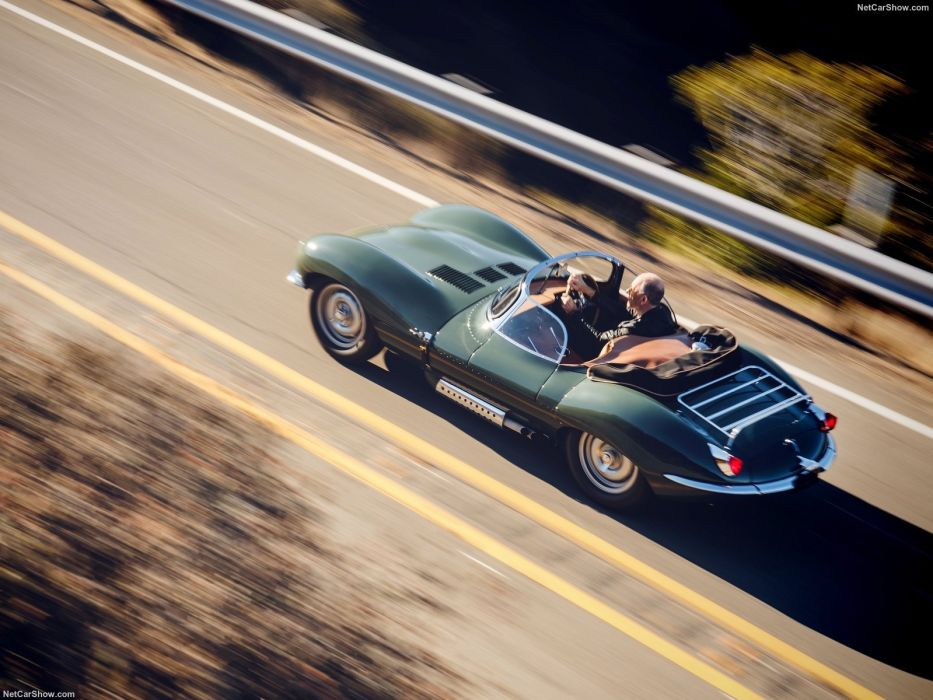 Jaguar XKSS (57) roadster cars green 2017 wallpaper