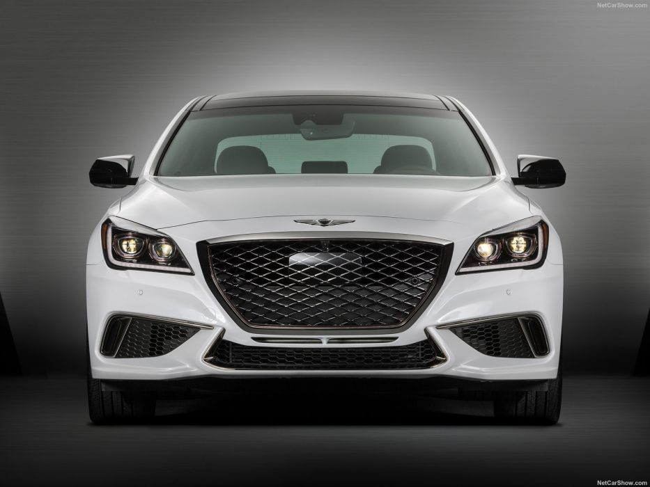 Hyundai Genesis G80 3 3T Sport cars sedan 2017 wallpaper