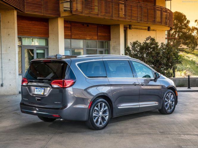 2016 auto cars chrysler pacifica minivan wallpaper