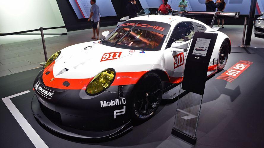 2017 Porsche 911 RSR racecars cars wallpaper