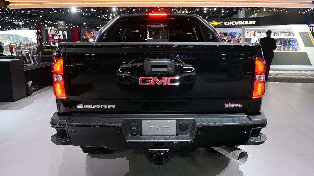 2017 GMC Sierra 2500HD All Terrain-X truck pickup black wallpaper