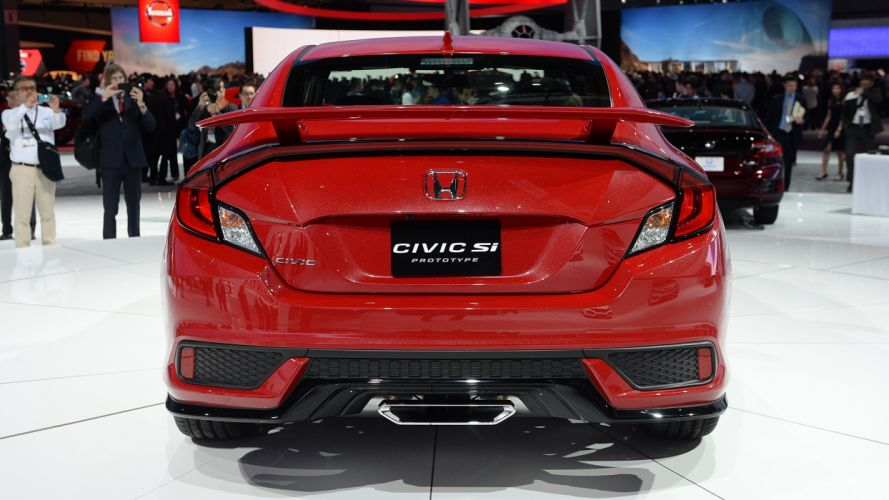 Honda Civic (Si) Concept cars 2016 wallpaper