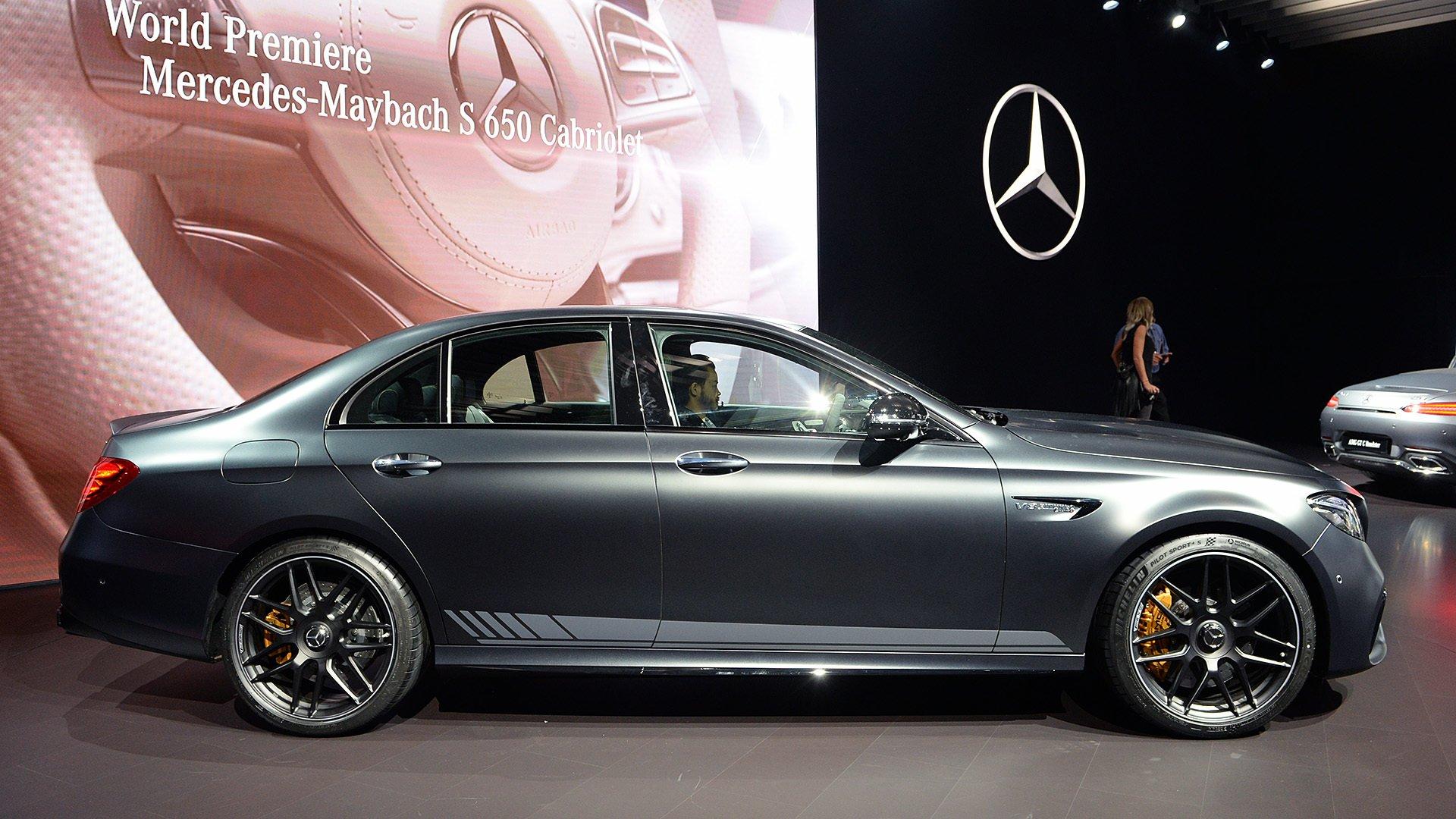 2017 mercedes amg e63s edition 1 cars black sedan. Black Bedroom Furniture Sets. Home Design Ideas