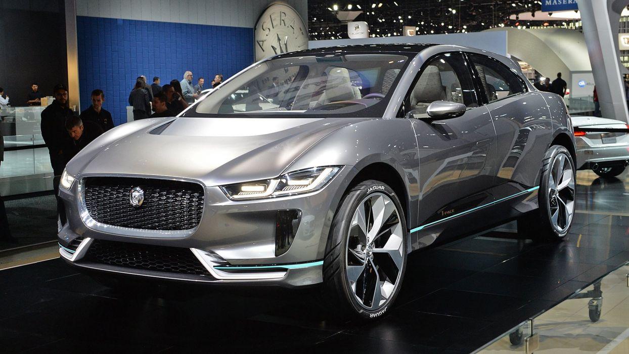 Jaguar I-Pace Concept carsn suv 2016 wallpaper