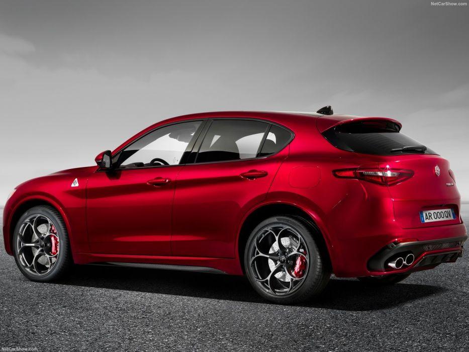 2011 Alfa Romeo Stelvio cars Quadrifoglio SUV red wallpaper