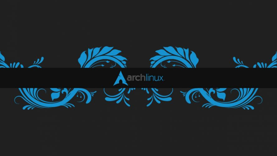 archlinux distro linux gnu minimalism minimalist minimal tribal abstrate arch distribution wallpaper