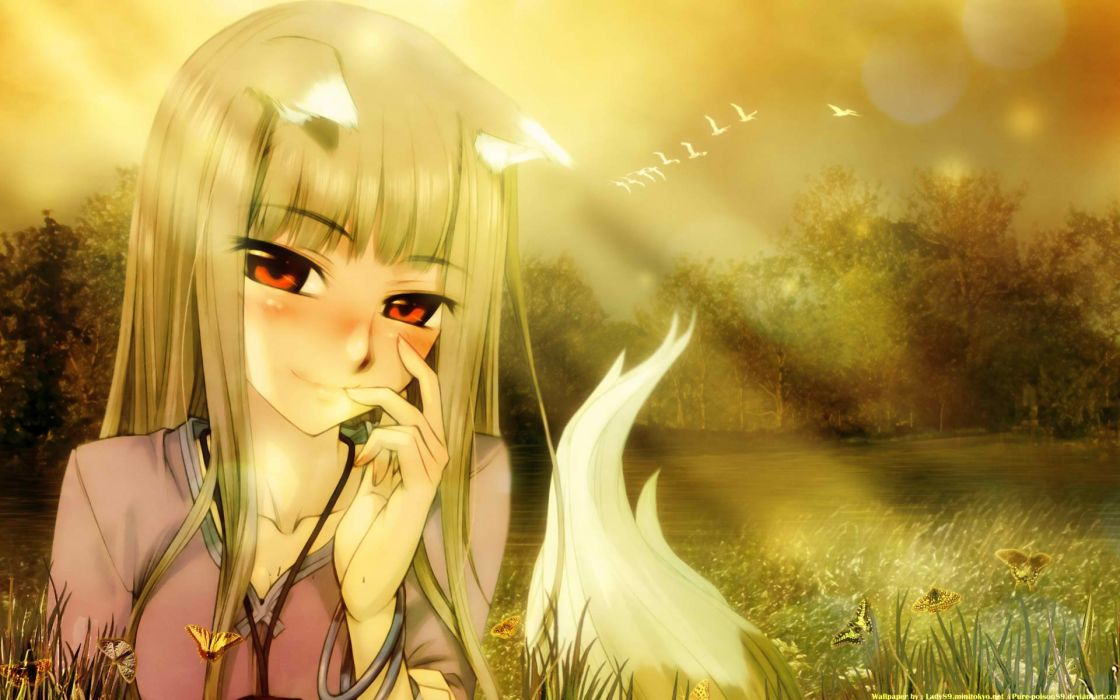 Spice And Wolf (5) wallpaper