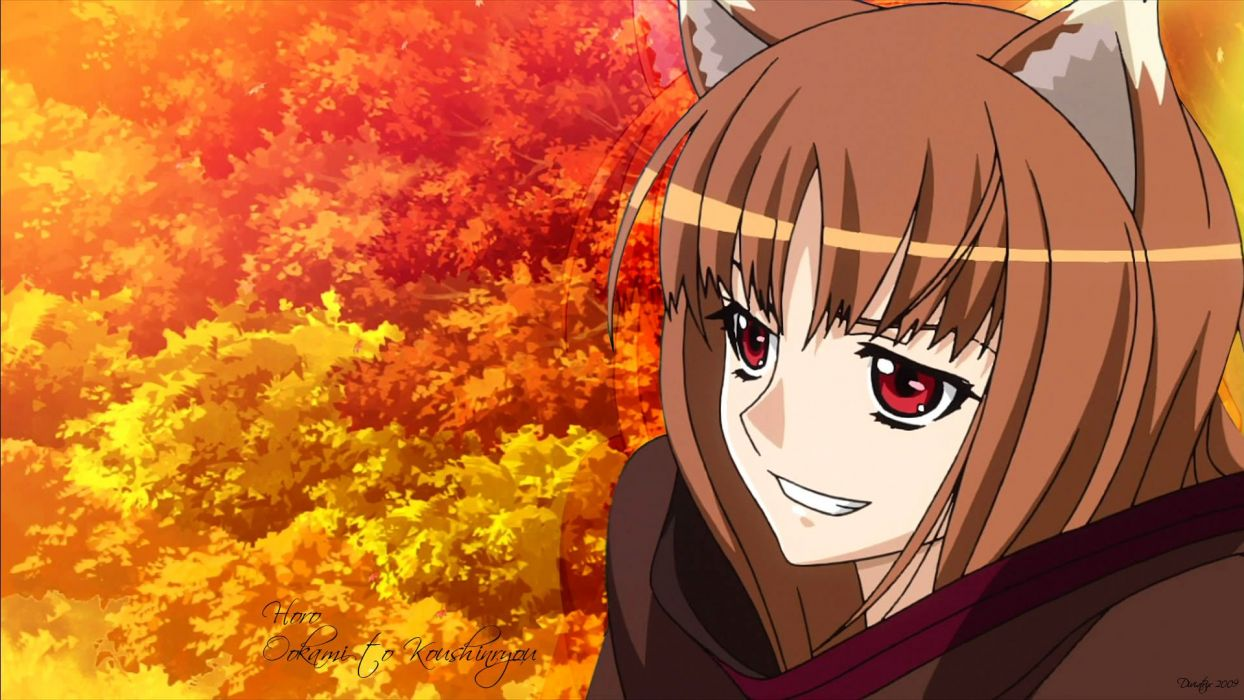 Spice And Wolf (13) wallpaper