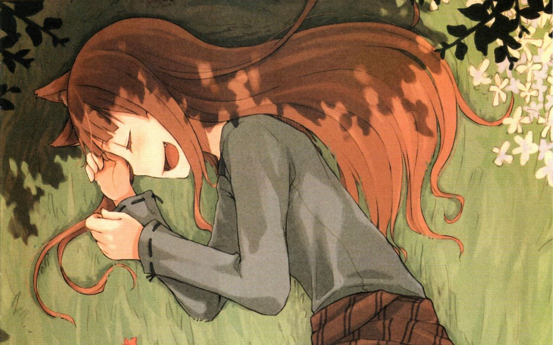 Spice And Wolf (9) wallpaper