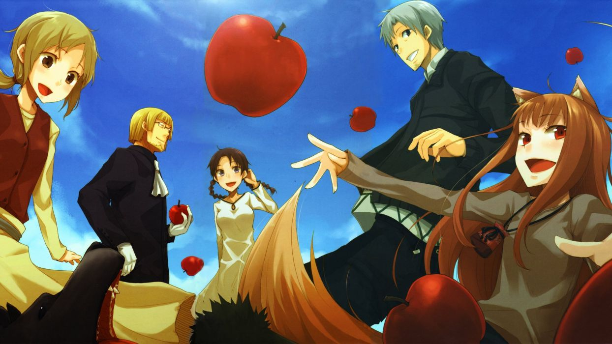 Spice And Wolf (6) wallpaper