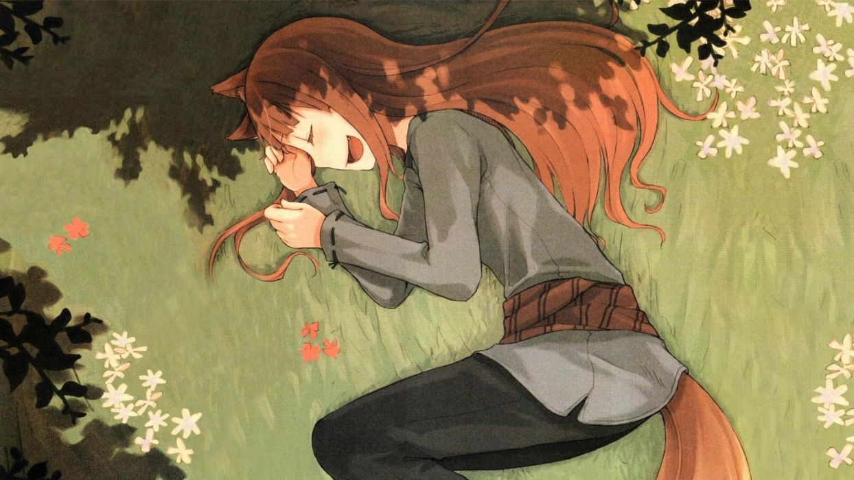 Spice And Wolf (15) wallpaper