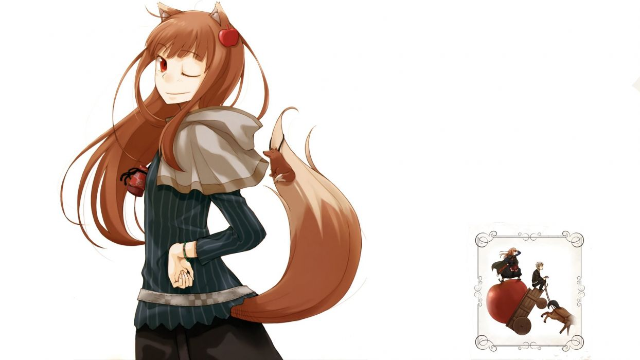 Spice And Wolf (17) wallpaper