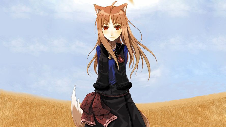 Spice And Wolf (33) wallpaper