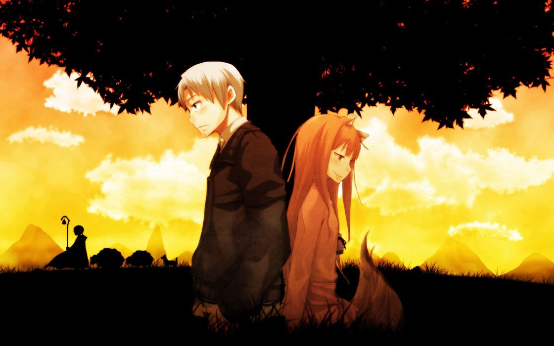 Spice And Wolf (39) wallpaper