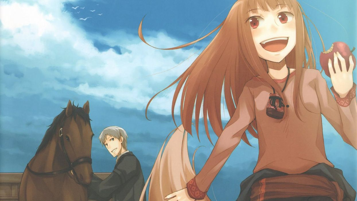 Spice And Wolf (37) wallpaper