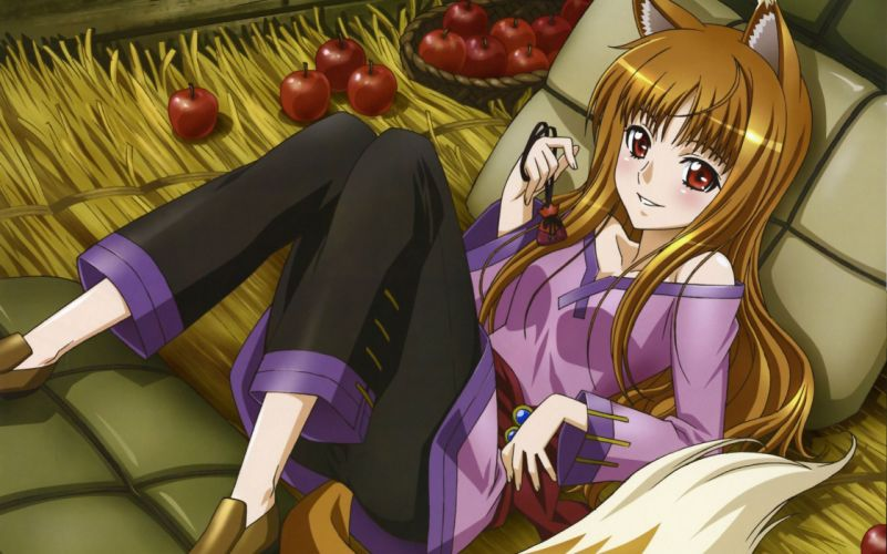 Spice And Wolf (43) wallpaper