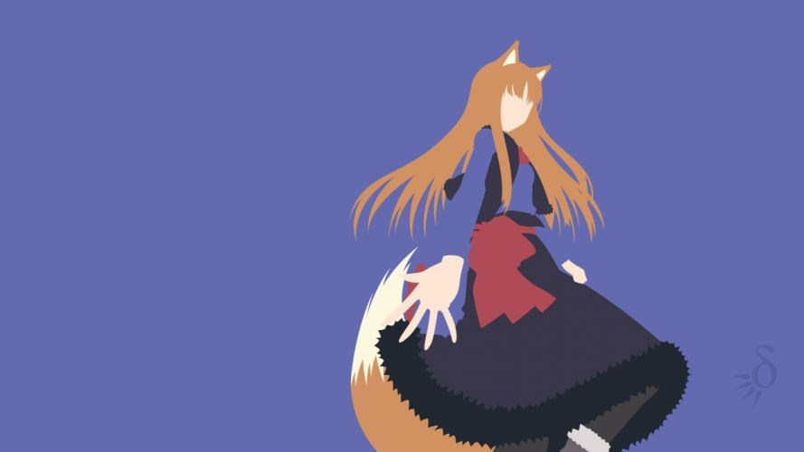 Spice And Wolf (50) wallpaper