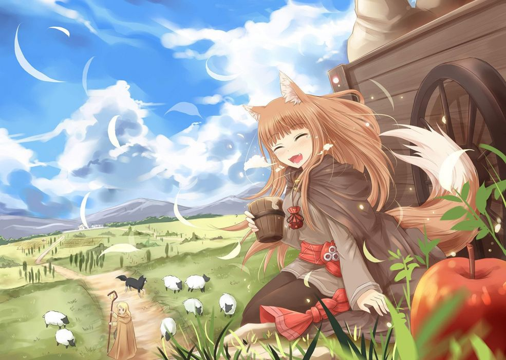 Spice And Wolf (55) wallpaper