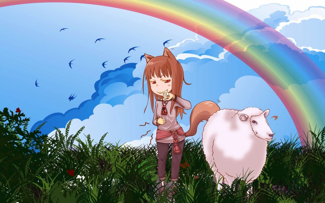 Spice And Wolf (79) wallpaper