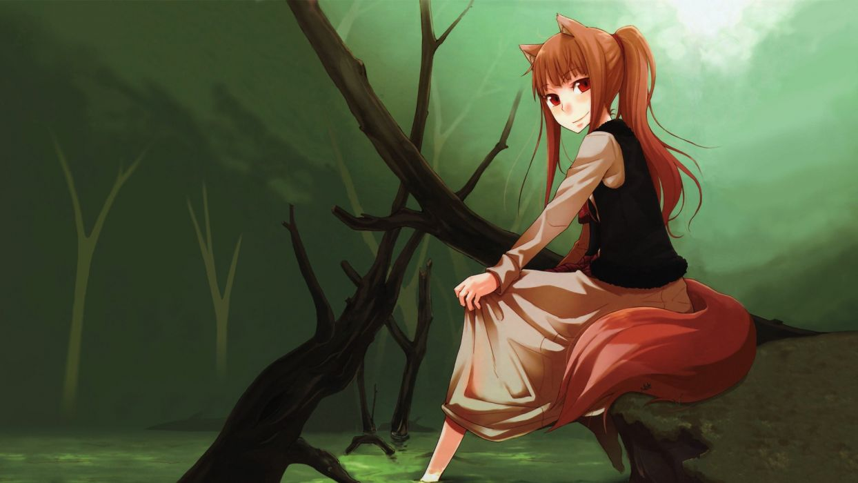 Spice And Wolf (93) wallpaper