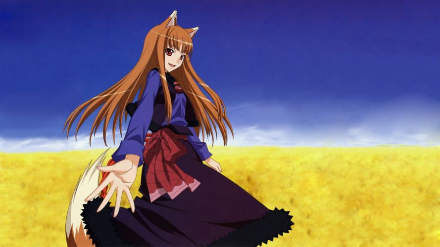 Spice And Wolf (110) wallpaper
