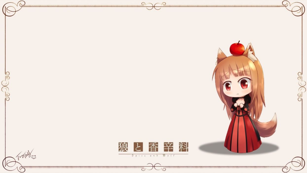 Spice And Wolf (154) wallpaper
