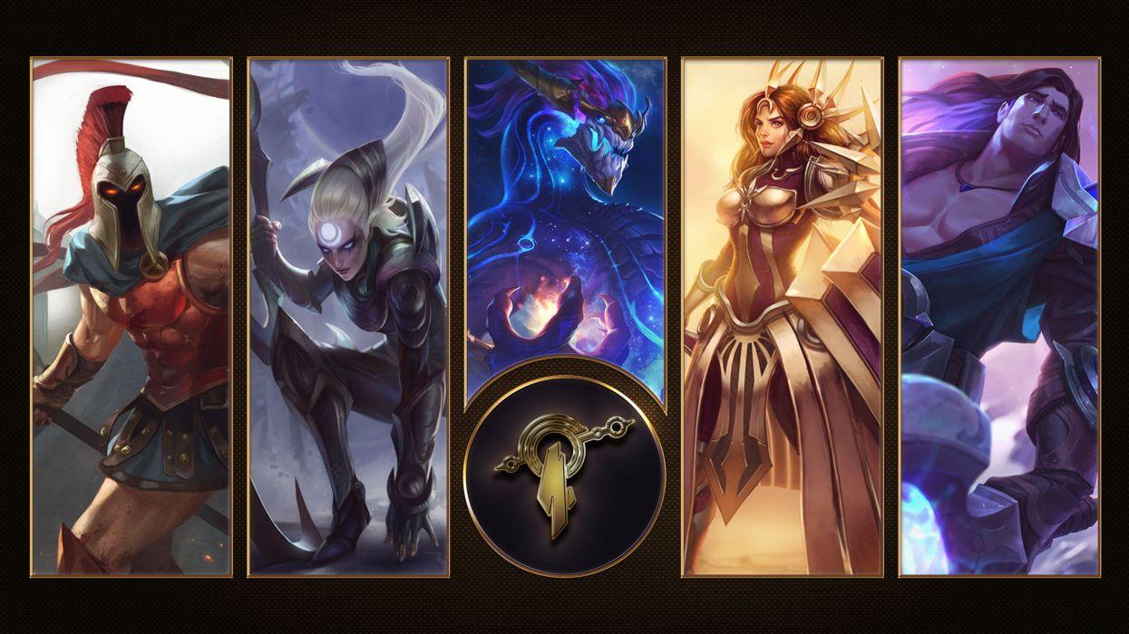 Mount Targon - League Of Legends wallpaper