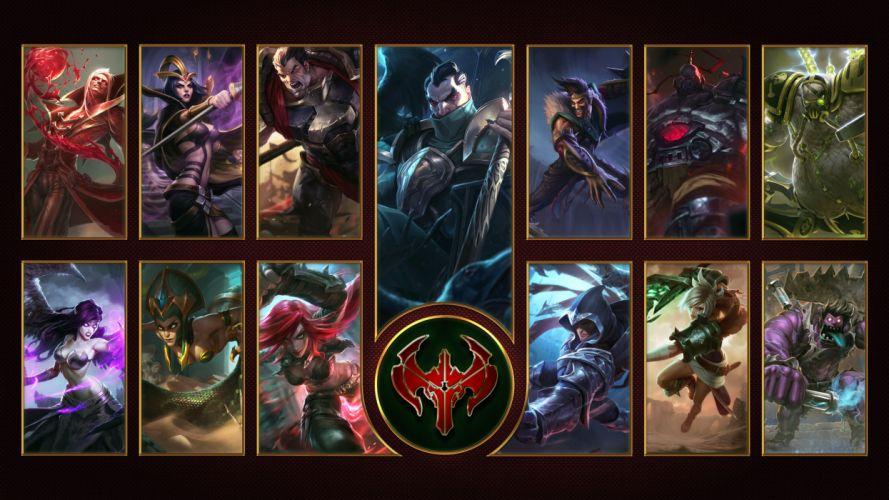 Noxus - League Of Legends wallpaper