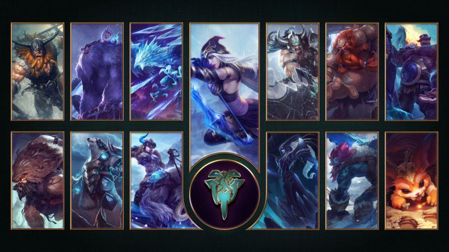 Freljord - League Of Legends wallpaper