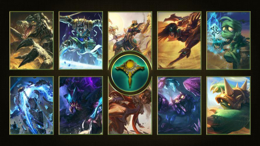 Shurima - League Of Legends wallpaper