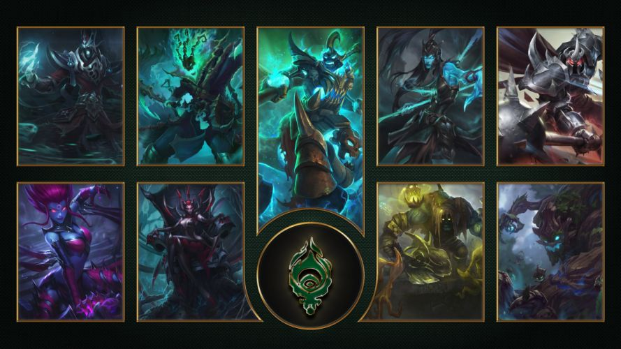 Shadow Isles - League Of Legends wallpaper