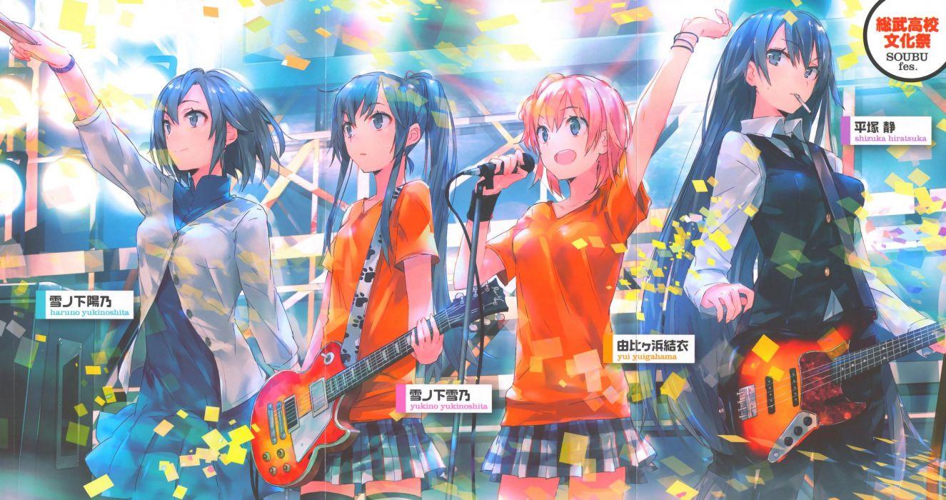 Yahari Ore No Seishun Rabu Kome Wa Machigatteiru (11) wallpaper