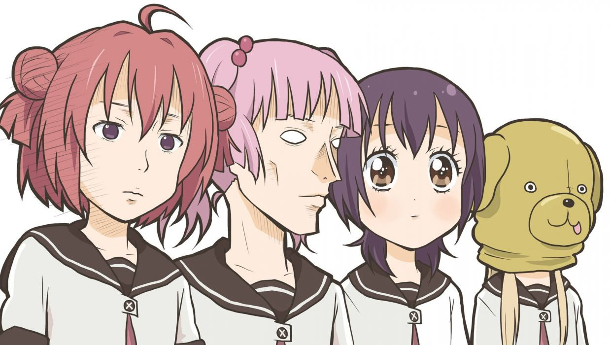 Yuru Yuri (2) wallpaper
