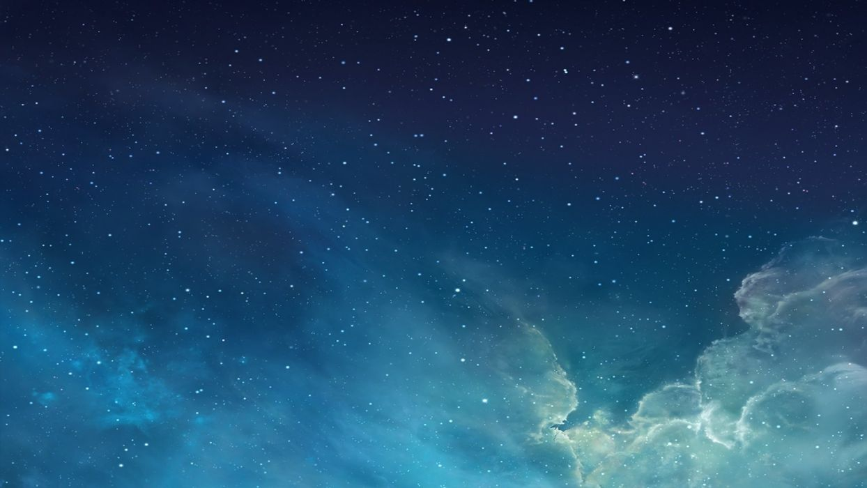 cielo nubes estrellas naturaleza wallpaper