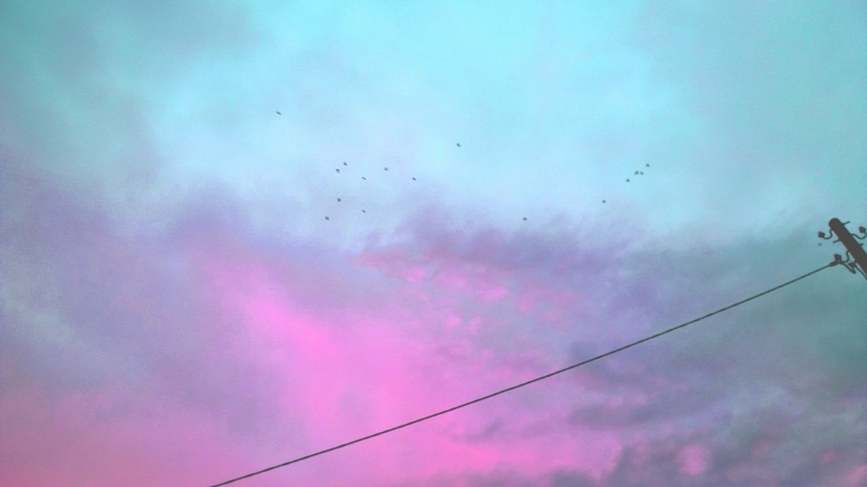 nubes cielo lluvia naturaleza wallpaper